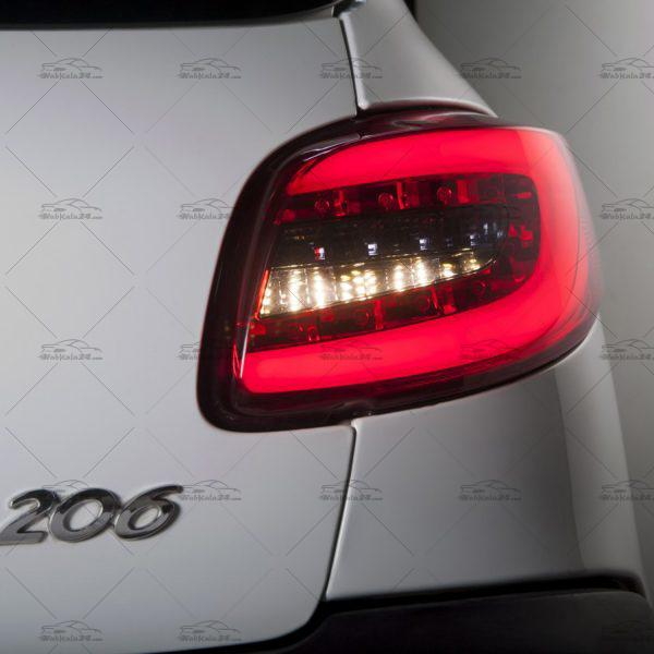 چراغ خطر اسپرت پژو 206 طرح 207 LED