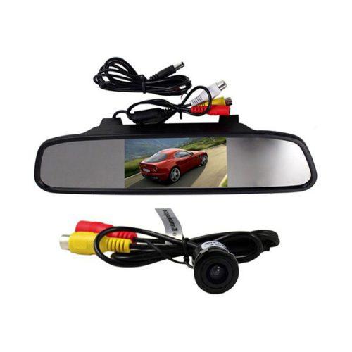 مانیتور آینه ای 4.3 اینچ بهمراه دوربین