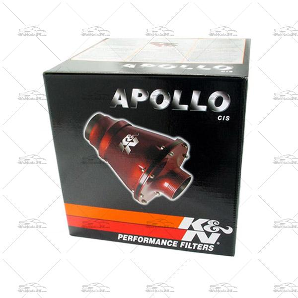 فیلتر هوای اسپرت K&N مدل آپولو