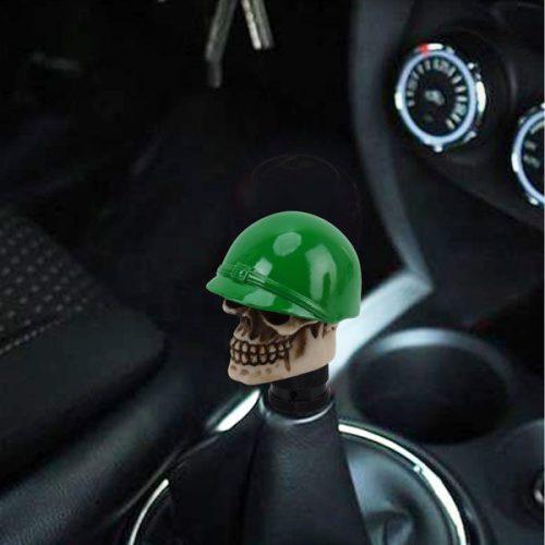سردنده اسپرت خودرو طرح جمجمه سرباز سبز